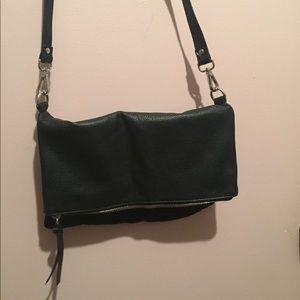 H&M Black Flap Crossbody Bag